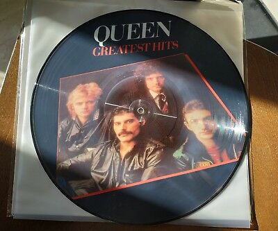 Queen-Greatest Hits Lp Picture, Nuovo, Introvabile