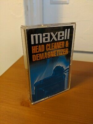 Maxell - Cassette Tape Head Cleaner/Demagnetizer (Dry Type A-450)