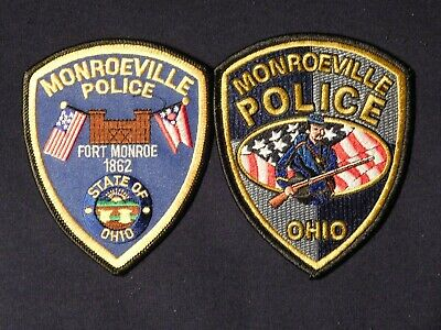 MONROEVILLE OHIO OH POLICE PATCH