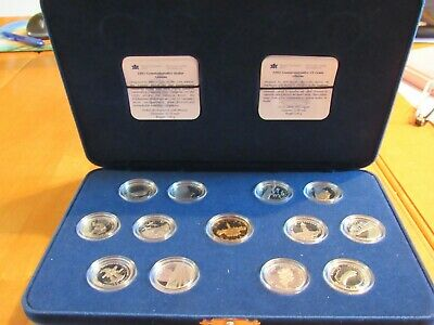 1992 Sterling Silver 25 Cent And Dollar Set-- 125Th Ann. Of Canada