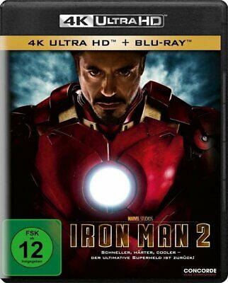 Iron Man 2 (4k Uhd) [Blu-ray]