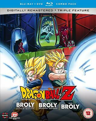 Dragon Ball Z Movie Collection Five: The Broly Trilogy (Blu-Ray+Dvd) [Edizione: