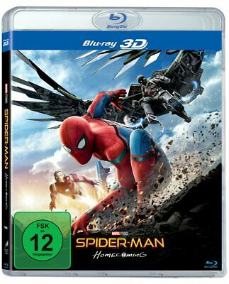 Spider-Man: Homecoming-3d Version (2 Disc) [Blu-ray]