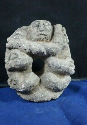 Peruvian Pre Columbian Chavin Style culture - Sculpture carved in stone