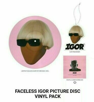Tyler The Creator - Igor (Limited Edition Picture Disc Faceless Vinyl) Pre-order