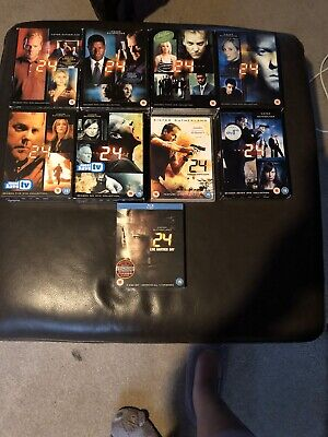 Dvd box sets of 24 - series 1-7 plus redemption and live another day