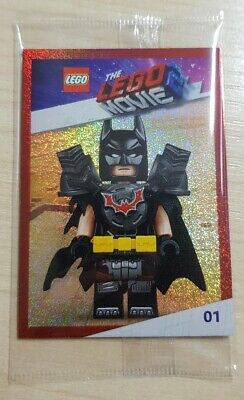 The Lego Movie 2 Trading Card - Batman Number 1 - VIP Exclusive