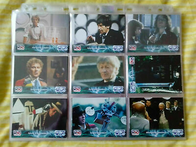 Doctor Who 1963-2003 40th Anniversary Cmplete 100 Base Set Strictly Ink - 2003