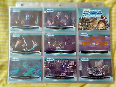 Doctor Who Big Screen Movie Complete 100 Base Card Set Strictly Ink - 2003