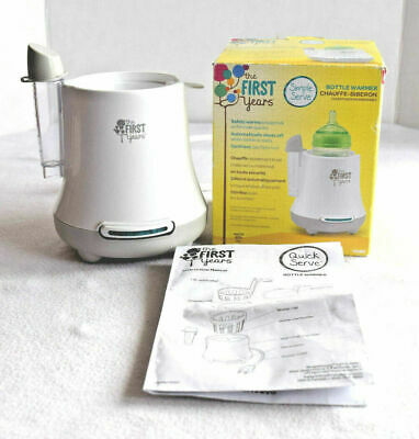 The First Years Simple Serve Bottle & Baby Food Warmer BPA Free