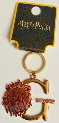 PRIMARK HARRY POTTER HOUSE TEAM INITIAL METAL KEYRING KEYCHAIN CHARM - Brand New