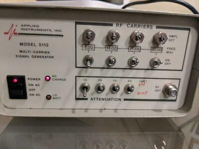 Applied Instruments Multi Carrier Signal Generator 5112 - S