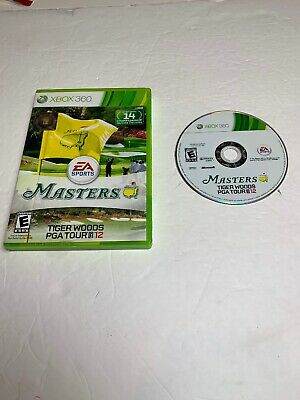 Tested Tiger Woods PGA Tour 12: The Masters (Microsoft Xbox 360, 2011)
