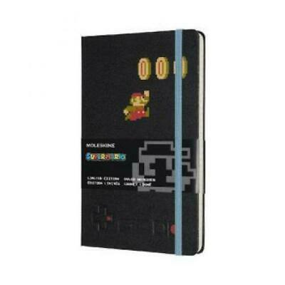 Moleskin Notebook - Super Mario Large / A5, Lined, Hard Cover, Mario in B 5224