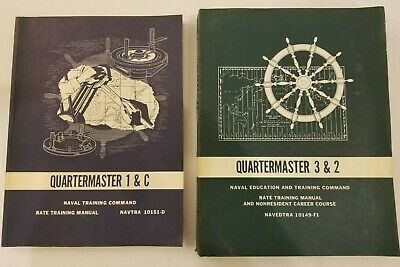 Quartermaster 1 & C and Quartermaster 2 & 3 - NAVTRA 10149-F and 10151-D