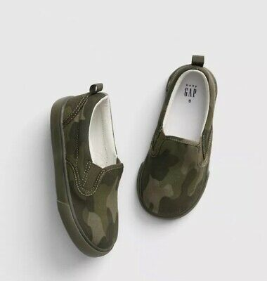 NEW Gap Toddler Boys CAMO Shoes Size 9 So Cute!