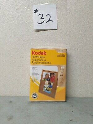 Kodak Photo Paper 100 Pack/Sheets 4x6 Instant Dry Gloss