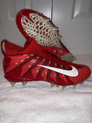 nike alpha cleats red
