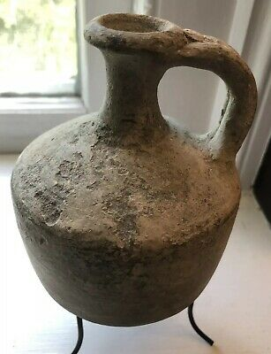 Exceptional Middle Bronze Age Holy Land Terracotta Pitcher cir 1800-1600 BC COA