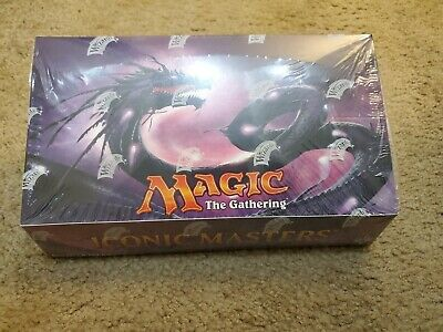 Iconic Masters Booster Box ENGLISH New Factory Sealed (MTG Magic the Gathering)