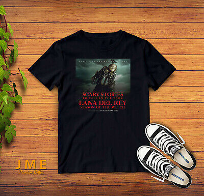 Season Of The Witch Lana Del Rey Scary Stories T-Shirt S-2XL Gildan Cotton