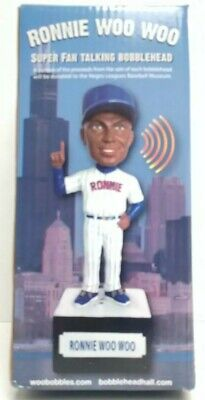 Ronnie Woo Woo Chicago Cubs Talking Bobblehead New In Open Box