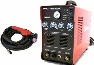 Plasma Cutter 50A Simadre 110/220V 5200Dx 200A Tig Arc Mma Welder Rate 60A Torch