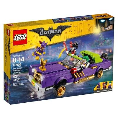 LEGO Batman Movie 70906 The Joker Notorious Lowrider NEW Sealed NIB Collector