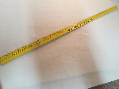 Ford Car Dealer Ship.vintage Car Wooden Ruler