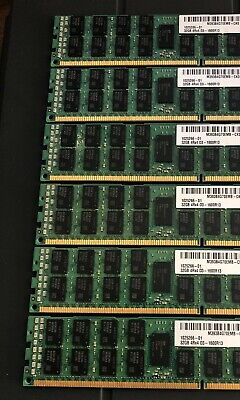 192Gb Samsung 32Gb 1600Mhz Ddr3 Ecc Registered Server Ram Pc3-12800