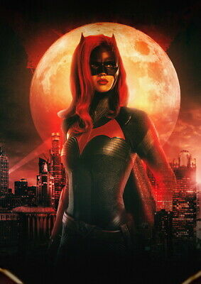 Batwoman Comics 2019 TV Series Ruby Rose Art Silk Canvas Poster Print 24x36 inch