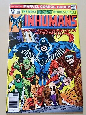 19-C0586: Inhumans # 8, 1976, FN 6.0! Movie in pre-Develop't! See Promo 7 for 7!