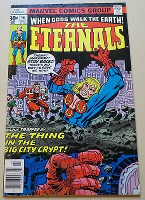 19-C0554: Eternals # 16, 1977, VG/F 5.0! Movie out in 2020!!! See Promo 7 for 7!
