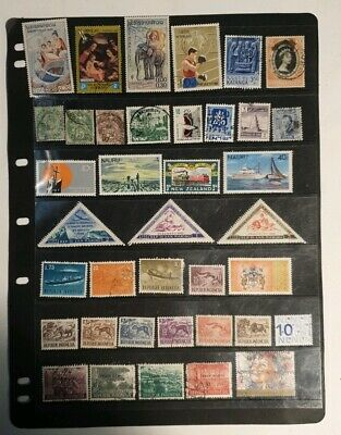 stamps  world mixture  - MH and Used - Lot 827