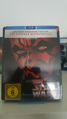 Bluray Steelbook Star Wars Episode 1 I - Die Dunkle Bedrohung  Neu&OVP