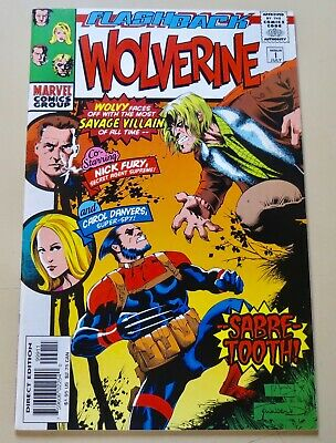 19-C0591: Wolverine # -1, 1997, NM 9.4!  See Promo 7 for 7!