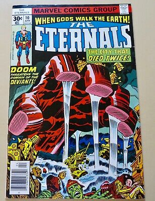19-C0594: Eternals # 10.1977, VF/NM 9.0! Movie out in 2020! See Promo 7 for 7!