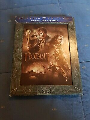 Lo hobbit la desolazione di smaug extended edition 3 bluray