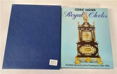 Royal Clocks The British Monarchy And It's Timekeepers Hard Back Clock Book