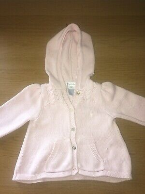 GENUINE Ralph Lauren Baby Cardigan Age 6 Months Girls