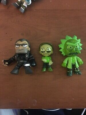 Funko Mystery Minis Toxic Rick And Morty Target Jaguar 1/72 Lot Vaulted Pop!