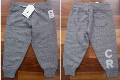 RRP: $49.95 Brand New Boys Size 2 Warm Grey Tracksuit Pants by COUNTRY ROAD