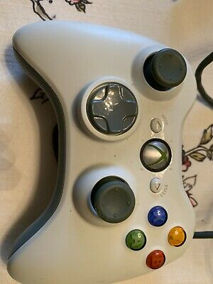 Microsoft Xbox 360 Wired Controller B4G00001 Gamepad Tested Working