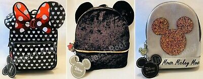 PRIMARK GIRLS DISNEY MICKEY MINNIE MOUSE RUCKSACK BACKPACK - Brand New With Tags