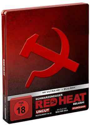 Red Heat (4K UHD + Blu-ray Steelbook) NEW / SEALED - PRE-ORDER
