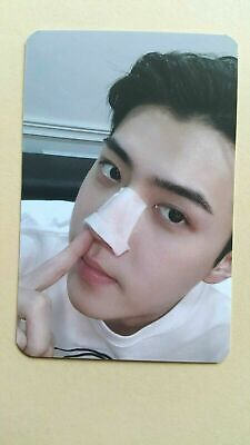 EXO -SC  Authentic Official PHOTOCARD WHAT A LIFE 1st Mini Album-  Sehun A