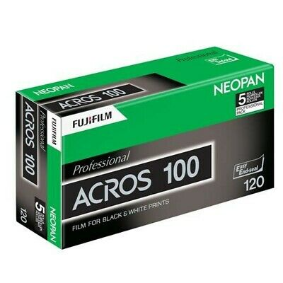 New 5 Rolls FUJIFILM Neopan Acros 100 120 Black & White Film from Japan