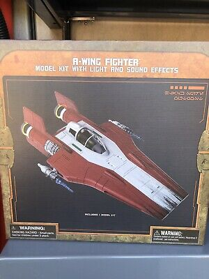 Disneyland A Wing Fighter Vehicle Model Kit New Galaxy's Edge Star Wars Land