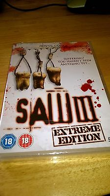"JOB LOT / CAR BOOT SALE / BULK ""SAW 3"" DVD's Qty 250 - NEW LOWER PRICE"