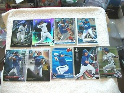 Toronto Blue Jays - Vladimir Guerrero, Jr. & Bo Bichette - 9 Card Lot